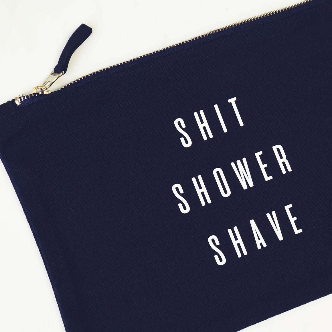 Shit, Shower, Shave Washbag
