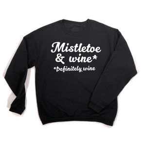 black Mistletoe & wine sweatshirt