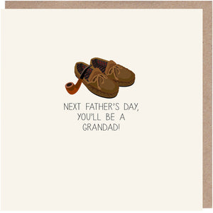 next father's day you'll be a grandad card