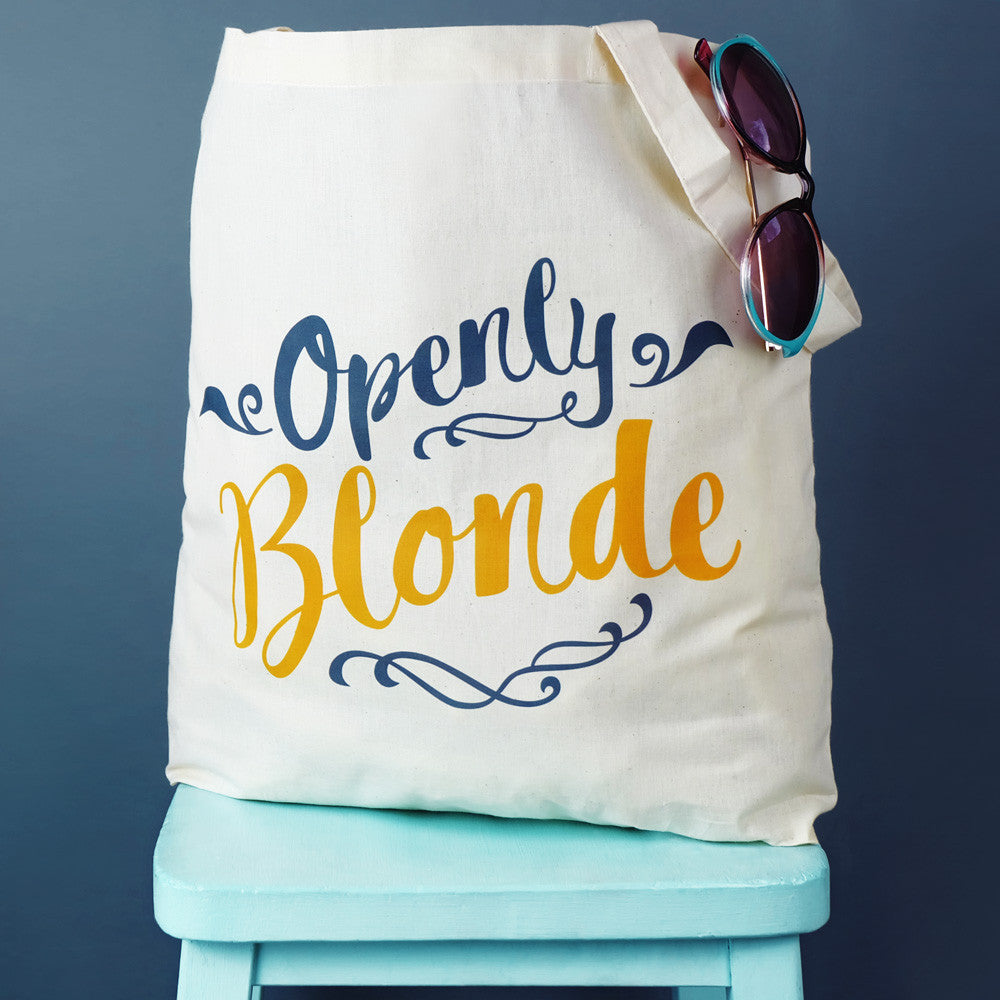 Openly Blonde Tote Bag