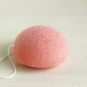 Konjac Facial Sponge - Rose or Charcoal