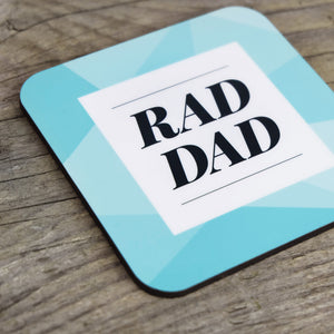 rad dad coasters