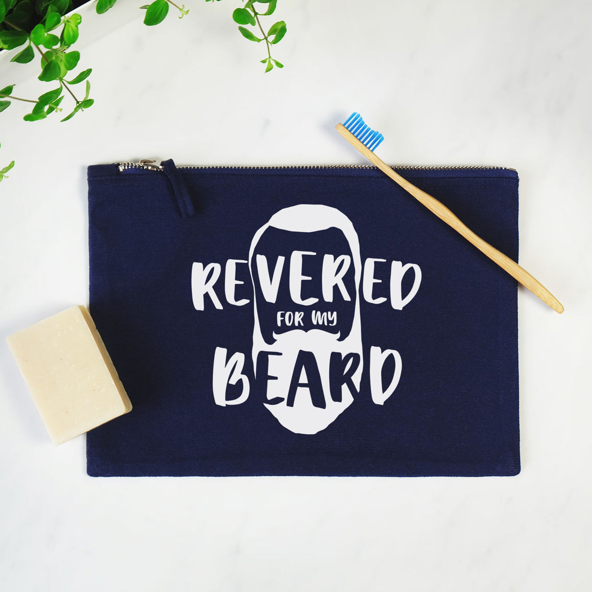 Revered For My Beard Washbag