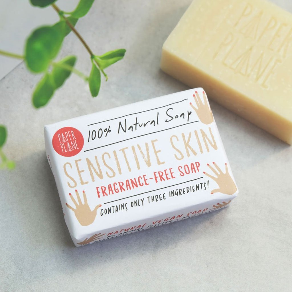 Sensitive Skin Soap 100% Natural Vegan Plastic-free