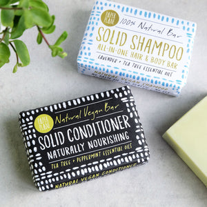 Tea Tree And Peppermint Vegan Solid Conditioner Bar