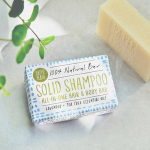 lavender tea tree solid shampoo