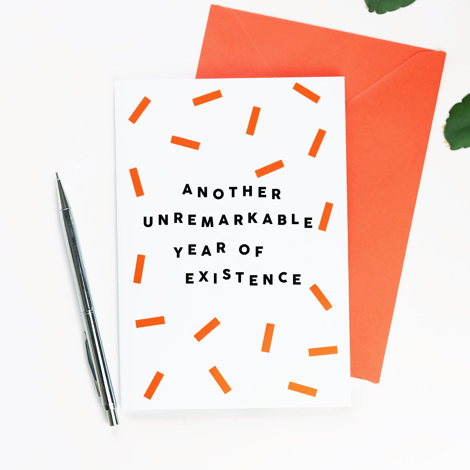 Another Unremarkable Year Of Existence Card