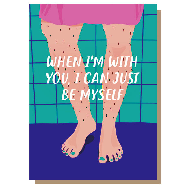 When I'm With You Anniversary/Valentine's Card