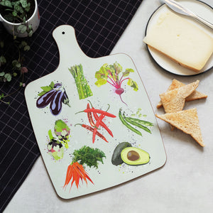 Vegetables Cheese Board