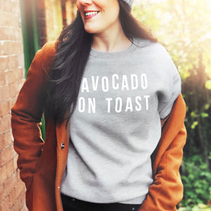 Women's Personalised Food Slogan Sweatshirt