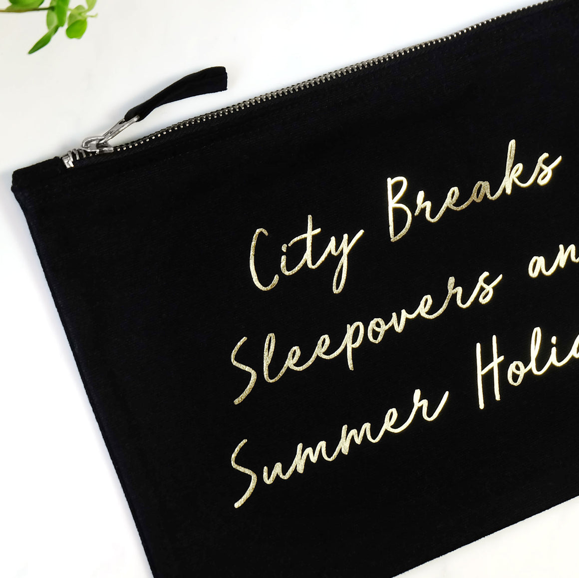 City Breaks, Sleepovers and Summer Holidays Washbag