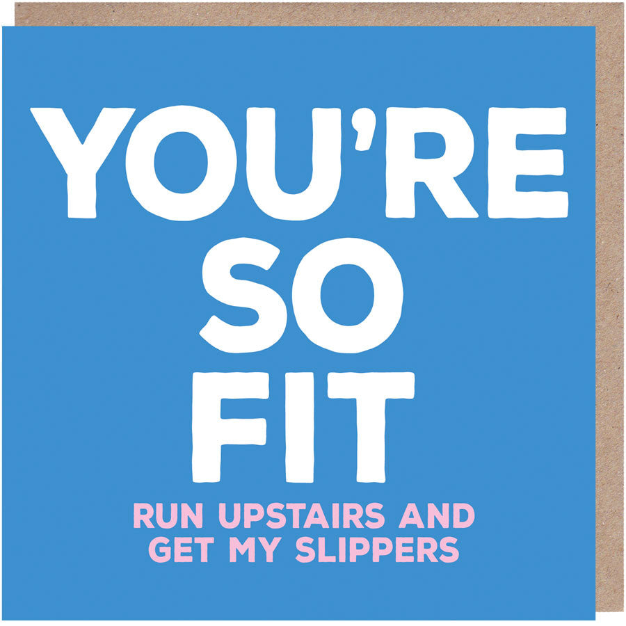 You're So Fit Card