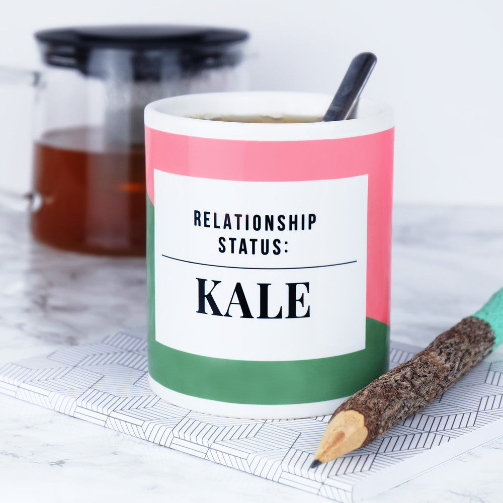 Kale lovers mug