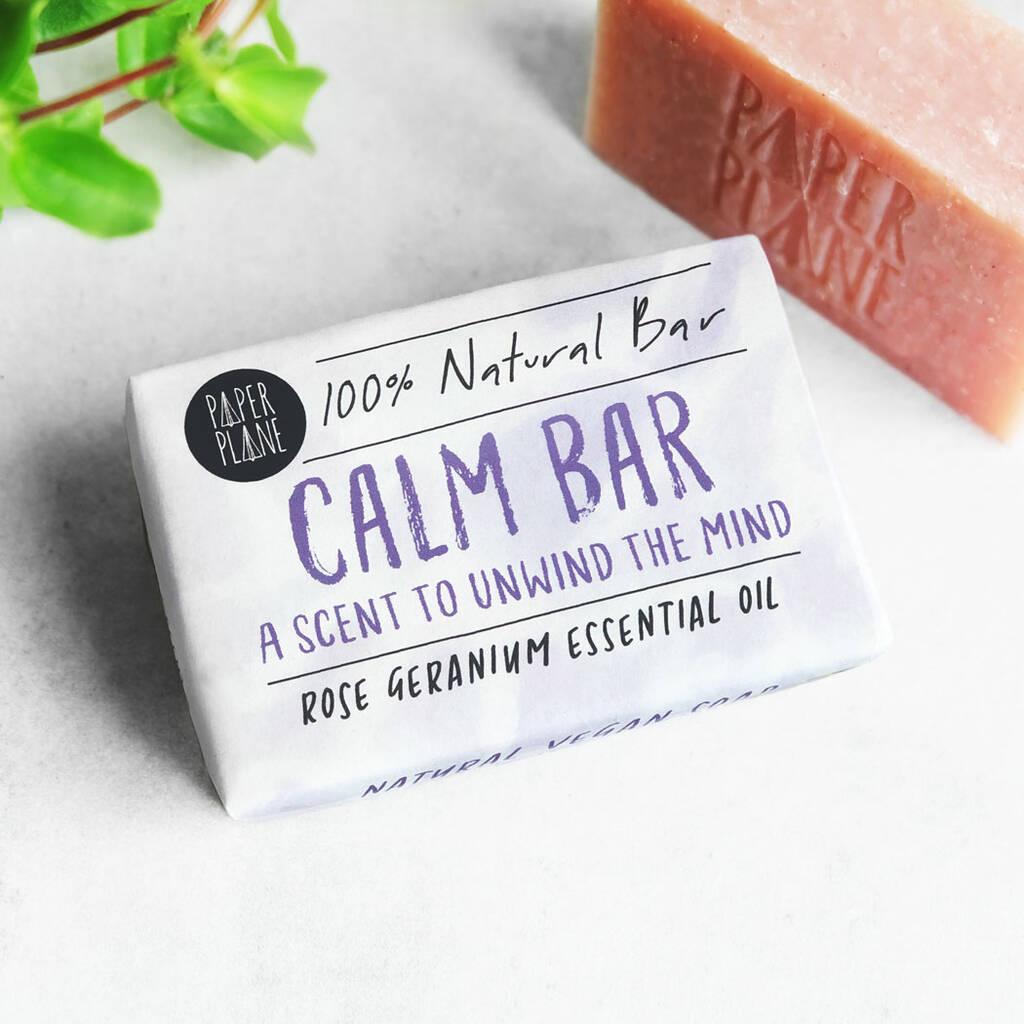 Calm Bar 100% Natural Vegan Soap