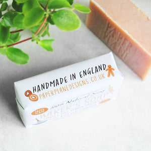 Cinnamon Baker's Soap 100% Natural Vegan