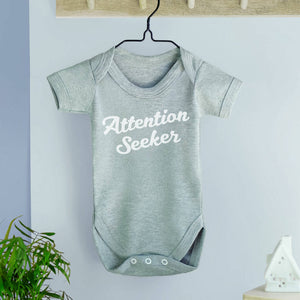 Attention Seeker babygrow
