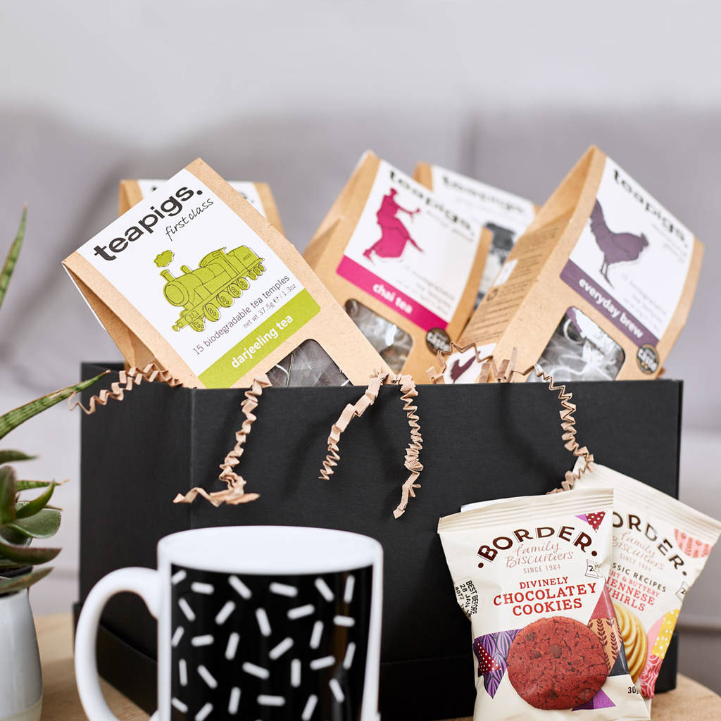 Personalised Tea Lovers Gift Box