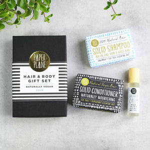 Vegan Hair And Body Gift Set - Calm