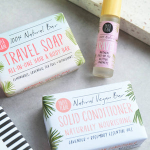 Vegan Hair And Body Gift Set - Travel