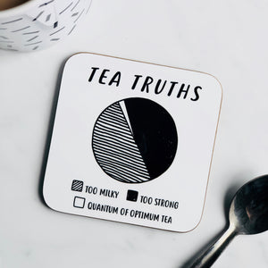Tea Truths Coaster