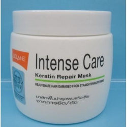 Lolane Intense Care Keratin Repair Mask 200gm For Hair Damaged by Straightening - Hairlight Hair & Beauty
