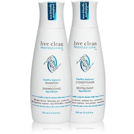 Live Clean Professional Healthy Balance Shampoo 350ml - Hairlight Hair & Beauty