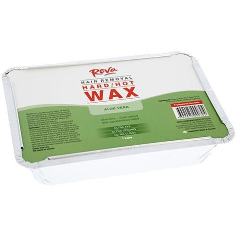 Reva Aloe Vera Hot/Hard Brazilian Wax 1kg - Hairlight Hair & Beauty
