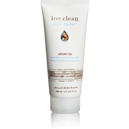 Live Clean exotic nectar  argan oil conditioning mask 200ml - Hairlight Hair & Beauty