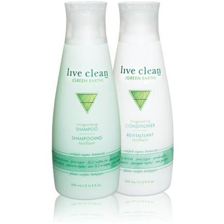 Live Clean green earth - invigorating conditioner 350ml or 750ml - Hairlight Hair & Beauty