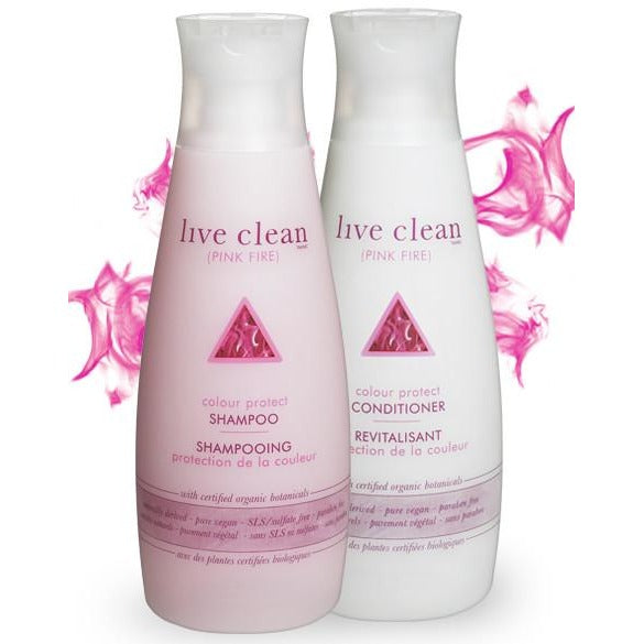 Live Clean pink fire - colour protect conditioner 350ml - Hairlight Hair & Beauty