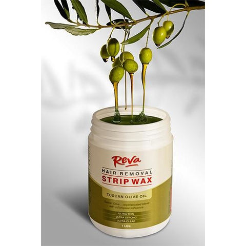 Reva Olive Oil Strip Wax – Hair Removal Wax 1Lt - Hairlight Hair & Beauty