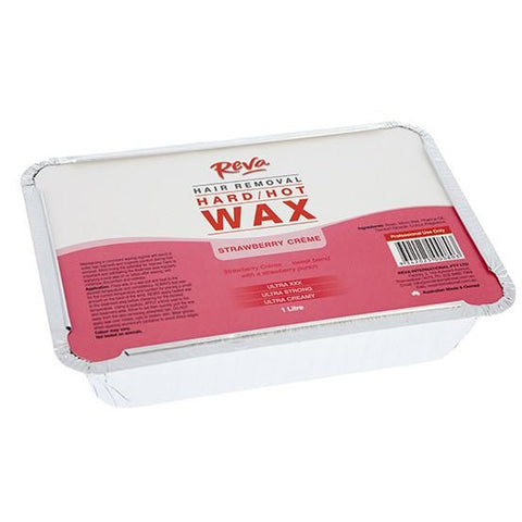 Reva Strawberry Hard Wax 1kg - Hairlight Hair & Beauty
