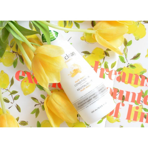 Live Clean Vitamin Multi Boost Conditioner 350ml - Hairlight Hair & Beauty