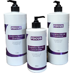 Focus Extreme Blonde Conditioner 500ml & 1Lt - Hairlight Hair & Beauty