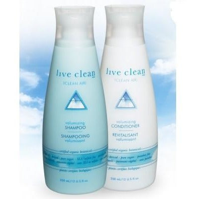 Live Clean Clean Air Volumizing Shampoo 350ml - Hairlight Hair & Beauty