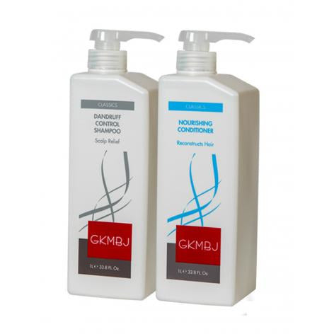 GKMBJ Dandruff Shampoo & Conditioner Duo 1Lt - Hairlight Hair & Beauty