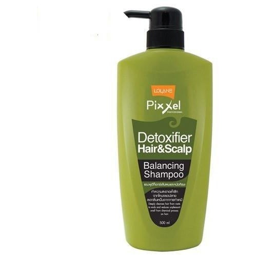 Lolane Pixxel Detoxifier Balancing Shampoo 500ml - Hairlight Hair & Beauty