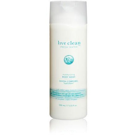 Live Clean fresh water - moisturizing body wash 500ml - Hairlight Hair & Beauty