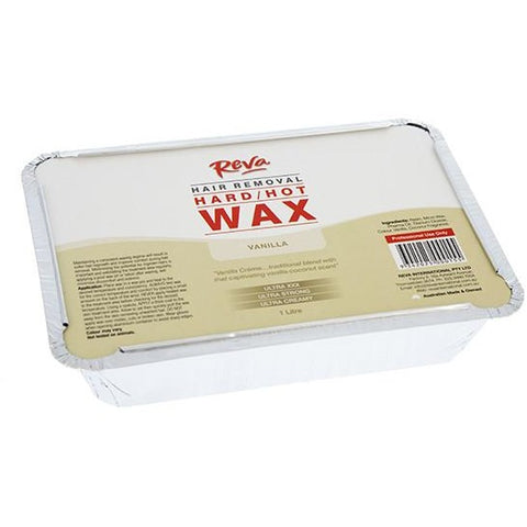 Reva Vanilla Hot Wax 1kg - Hairlight Hair & Beauty