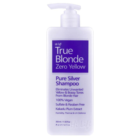 Hi Lift True Blonde Zero Yellow Shampoo 350ml or 1Lt - Hairlight Hair & Beauty