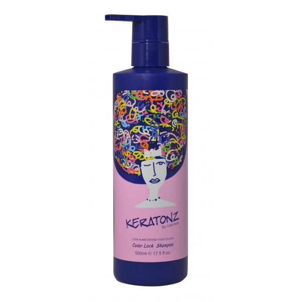 Keratonz Colour Lock Shampoo 500ml - Hairlight Hair & Beauty