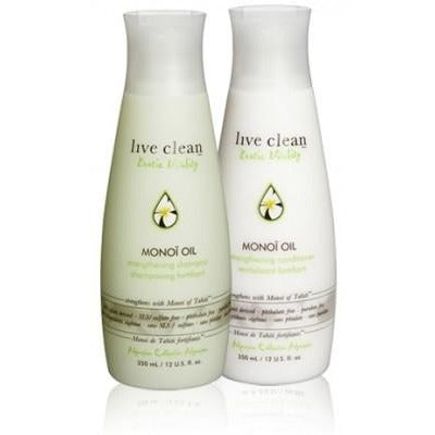 Live Clean Exotic Vitality- Monoi Oil Shampoo 350ml - Hairlight Hair & Beauty