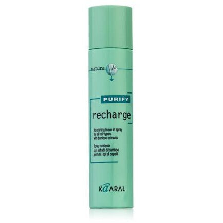 Kaaral RECHARGE – Nourishing leave in spray for all hair types with bamboo extracts 250ml - Hairlight Hair & Beauty