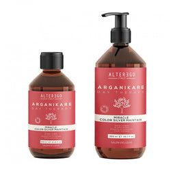 Arganikare Colour Silver Maintain Shampoo 300ml & 950ml - Hairlight Hair & Beauty