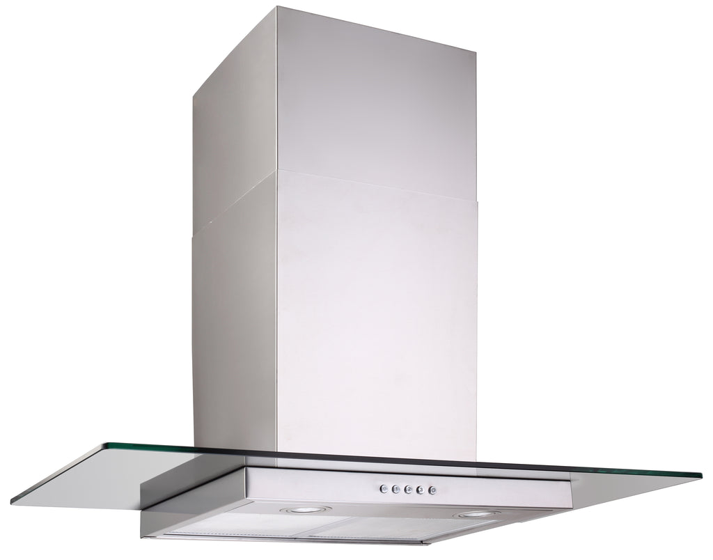 GLASS CANOPY Q SERIES RANGEHOOD - 900MM