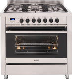 FREESTANDING DUAL FUEL COOKER - 900MM DESIGNER