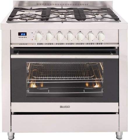 FREESTANDING DUAL FUEL COOKER - 900MM PRESTIGE