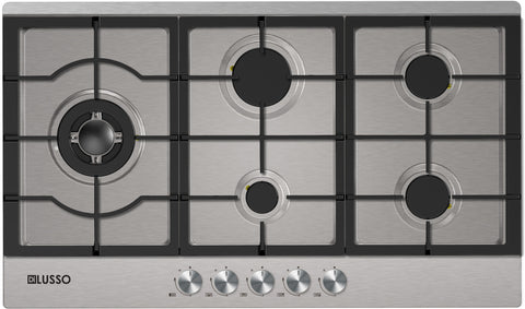 GAS COOKTOP - 900MM STAINLESS STEEL