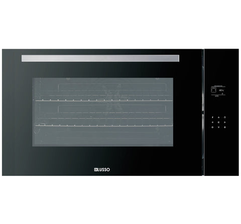 ELECTRIC OVEN - 900MM BLACK GLASS 11 FUNCTION