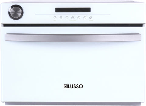 FREESTANDING STEAM OVEN - WHITE GLASS
